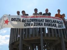 Protesta RAMSA Delta del Llobregat