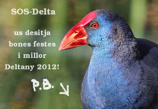Felicitación navideña 2012 de SOS Delta del Llobregat
