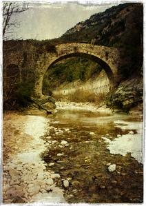 Pont romànic del Far al congost de Fígol