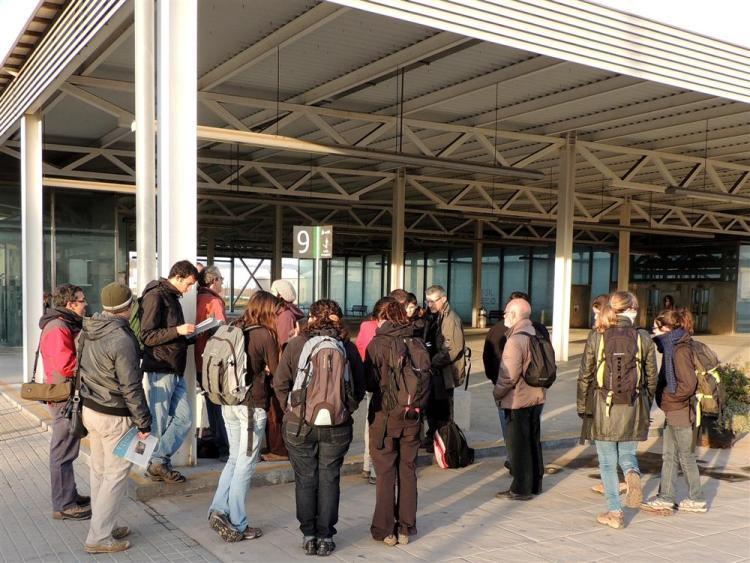 Grup de participants al començament de la jornada